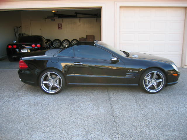 2004 mercedes benz sl600 renntech 1 4 mile trap speeds 0. Black Bedroom Furniture Sets. Home Design Ideas