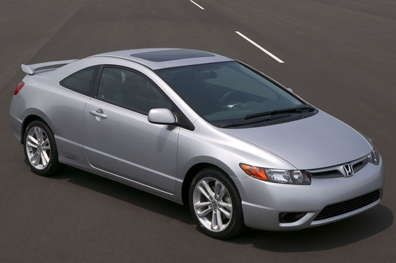 You can vote for this Honda Civic Si to be the featured car of the month on