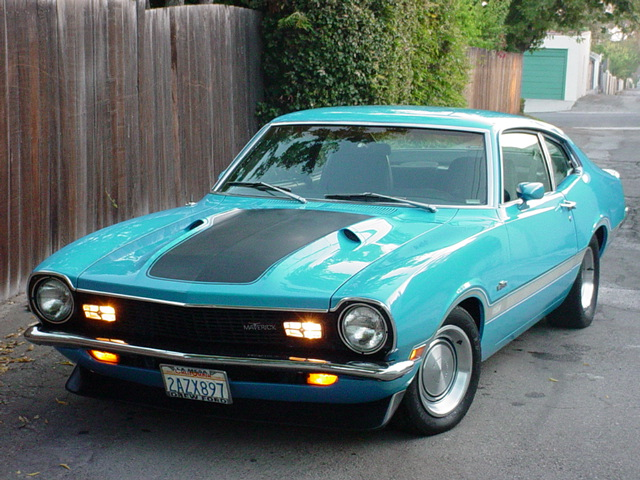 1971  Ford Maverick Grabber picture, mods, upgrades