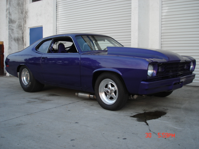 1973 Plymouth Duster Pump-Gas