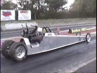 Stock 1998 Arctic Cat Snowmobile Dragster 1/4 mile trap speeds 0 ...