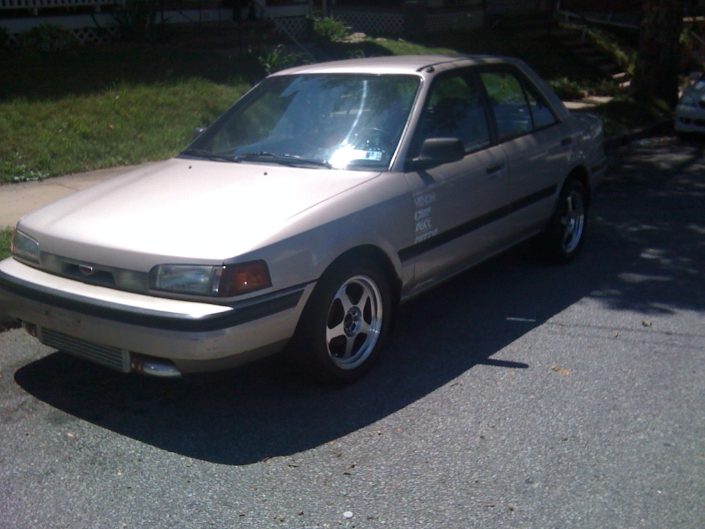 1994  Mazda Protege DX Turbo picture, mods, upgrades