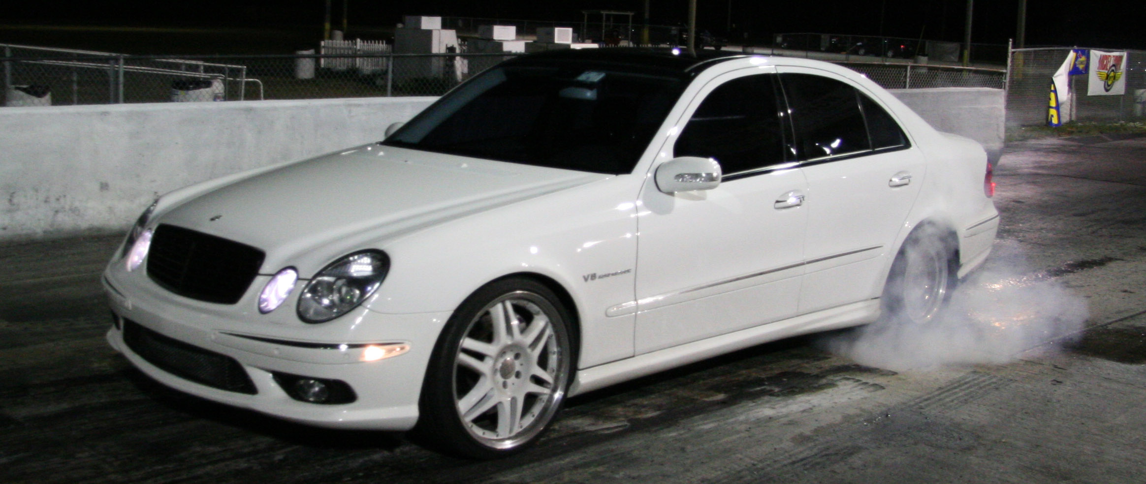 Albert's Mercedes-Benz E55 AMG