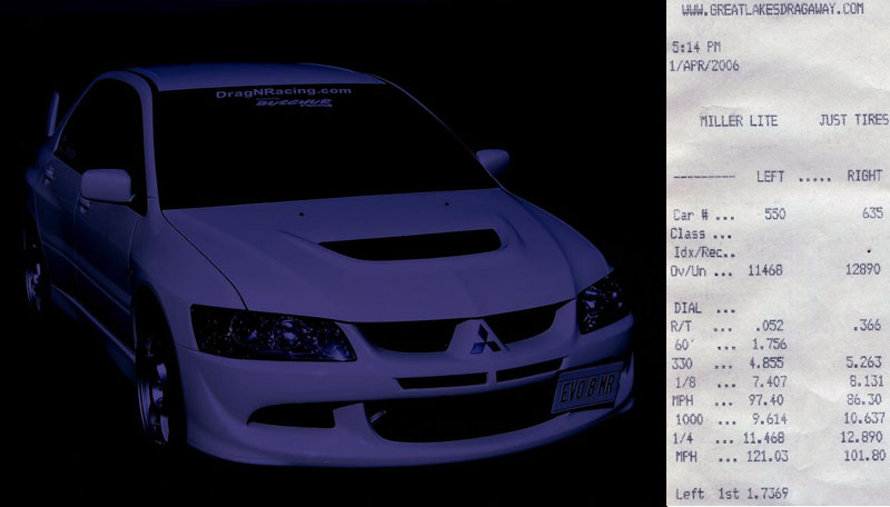 2005  Mitsubishi Lancer EVO MR picture, mods, upgrades
