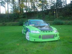 1997 Honda Civic ex h22a swap