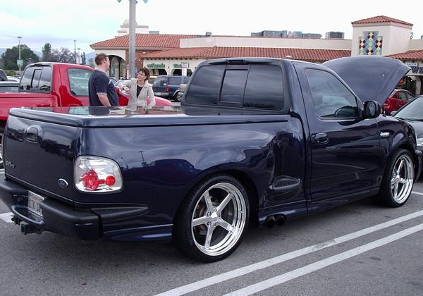 2002  Ford F150 Lightning SVT picture, mods, upgrades