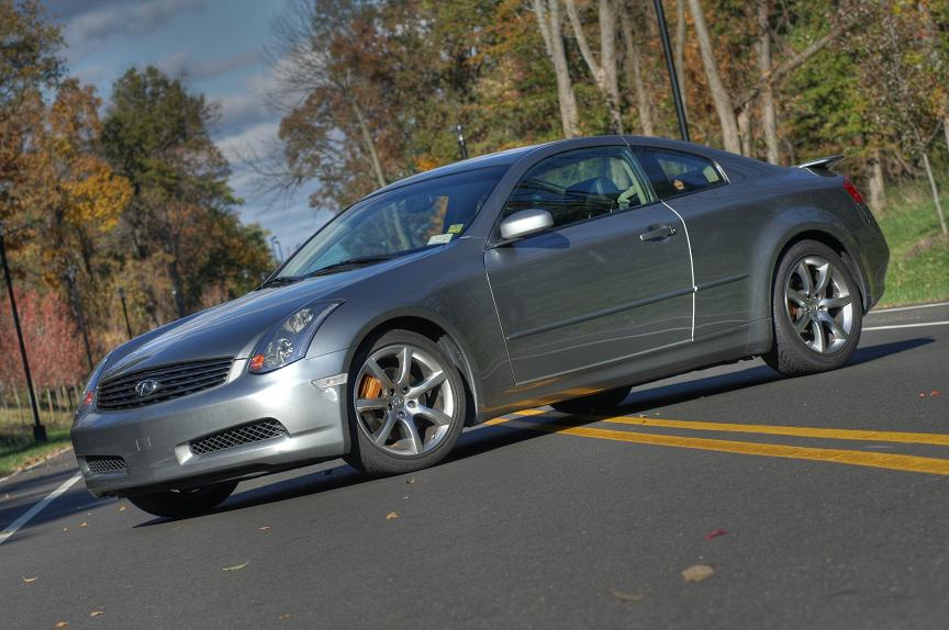 Infiniti g35 coupe 6mt