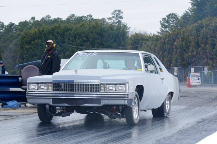 1978 Primer grey Cadillac De Ville coupe picture, mods, upgrades