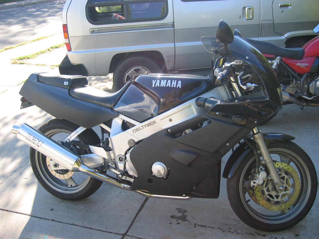 1991  Yamaha FZ FZR600 picture, mods, upgrades