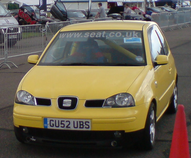 2002  Seat Arosa 1.4 sport 16v picture, mods, upgrades