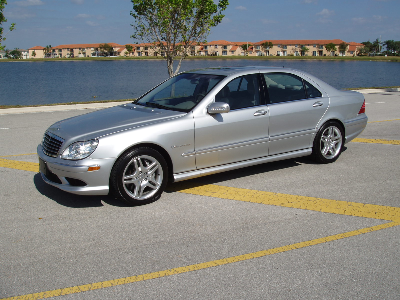 Stock 2003 mercedes benz s55 amg 1 4 mile trap speeds 0 60 for Mercedes benz s55