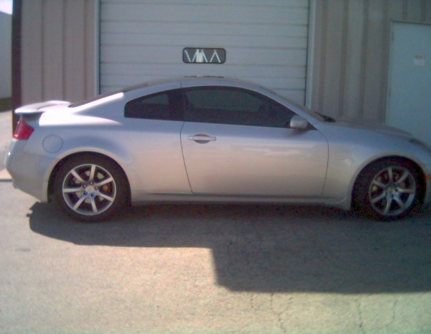 2004  Infiniti G35 Supercharger picture, mods, upgrades