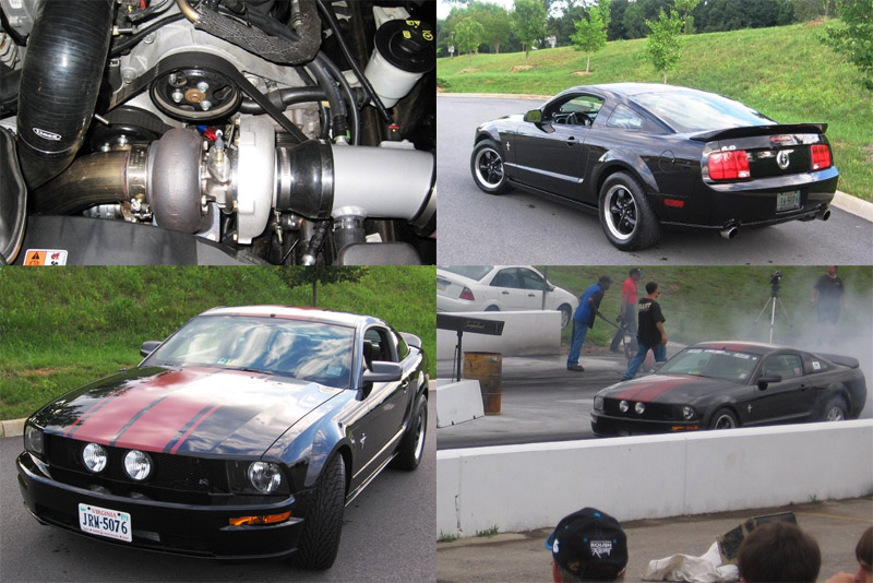 Ford Mustang Turbo V6 PowerHouse
