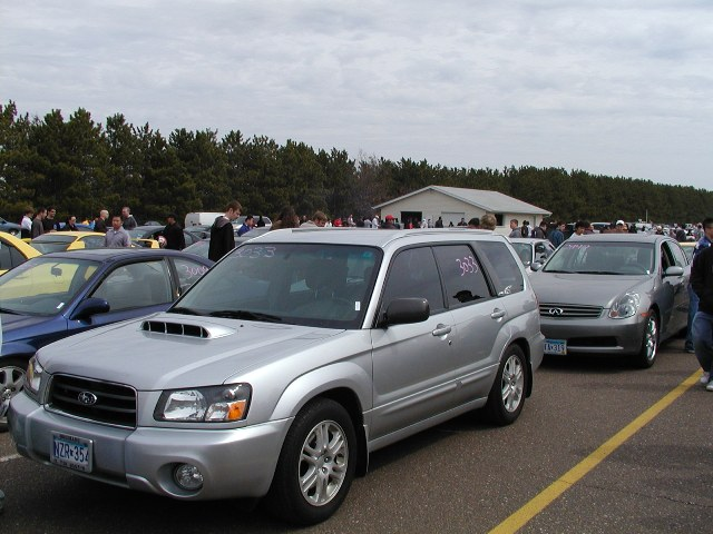 2004  Subaru Forester XTi picture, mods, upgrades