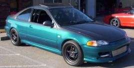 1995  Honda Civic EX Turbo picture, mods, upgrades