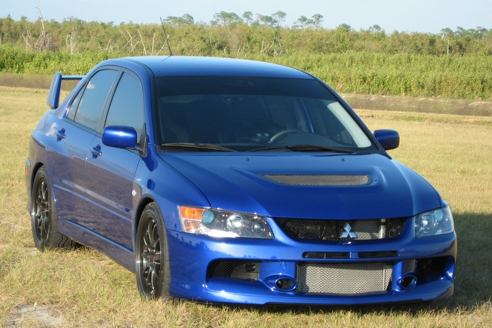 2006  Mitsubishi Lancer EVO IX picture, mods, upgrades