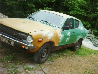 1984  Datsun 120 2 door coupe picture, mods, upgrades
