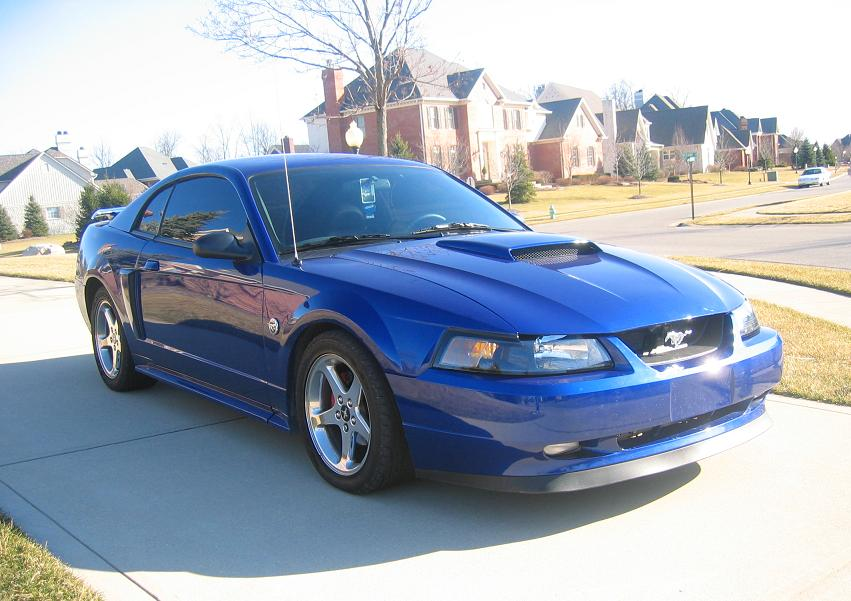 2004 Ford Mustang GT 1/4 mile Drag Racing timeslip specs 0-60