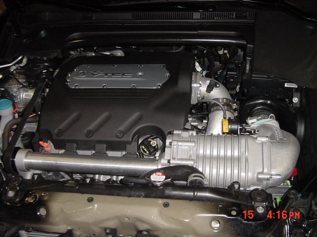 2005  Acura TL Supercharger picture, mods, upgrades