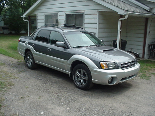 You can vote for this Subaru Baja Turbo 5 speed to be the featured car of