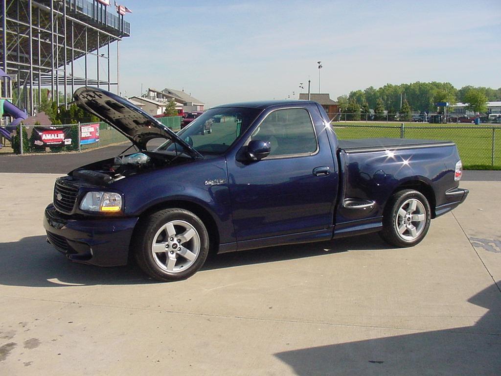 2002 Ford F150 Lightning 14 mile Drag Racing timeslip specs 060
