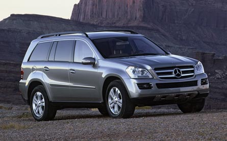 stock 2007 mercedes benz gl450 1 4 mile drag racing. Black Bedroom Furniture Sets. Home Design Ideas