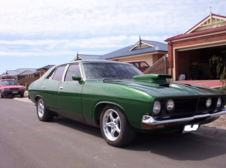 1974 Ford Falcon XB Fairmont sedan