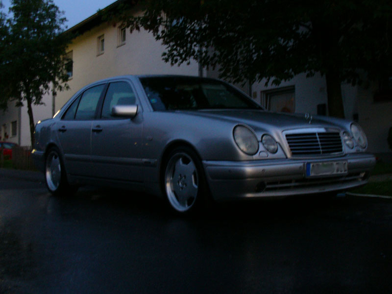 1997  Mercedes-Benz E50 AMG  picture, mods, upgrades