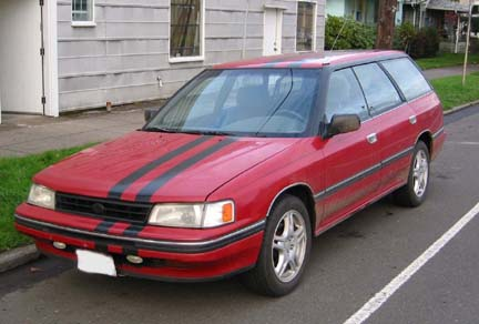 1990 Subaru Legacy Wagon Eaton Supercharger GT30 Turbo