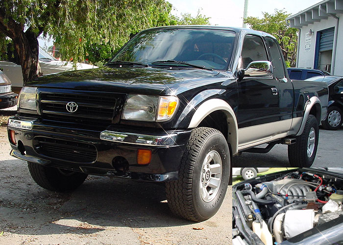 1998  Toyota Tacoma SR5 Twin Turbo picture, mods, upgrades