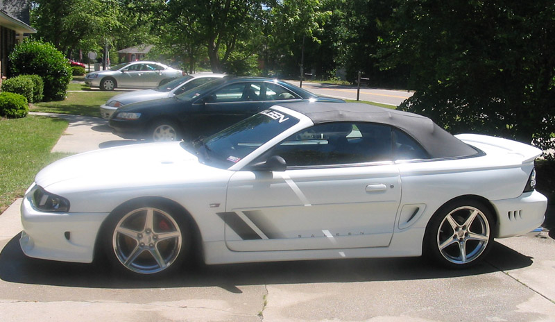 1997 ford mustang saleen pictures mods upgrades. Black Bedroom Furniture Sets. Home Design Ideas