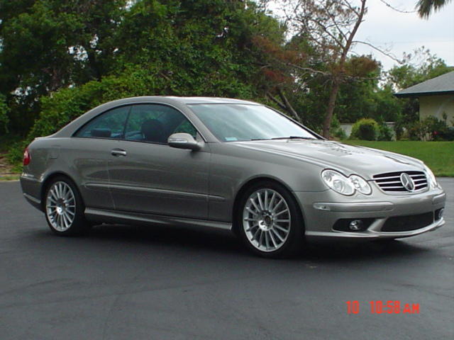 2003 Mercedes-Benz CLK55 AMG Coupe
