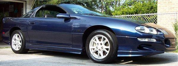 Stock 2001 Chevrolet Camaro Z28 14 mile Drag Racing timeslip