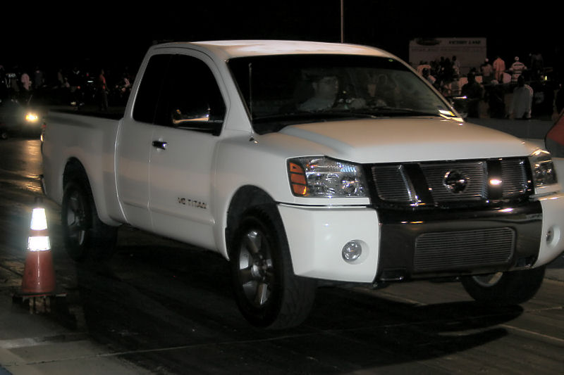 2005 Nissan Titan 5 6 Se 4 X 2 Kc 1 4 Mile Drag Racing