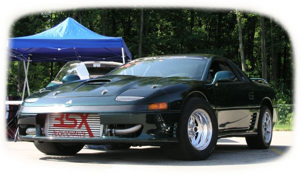 1993 Mitsubishi 3000GT FWD Turbo Conversion