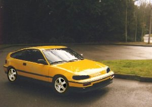 1989 Honda Civic CRX si