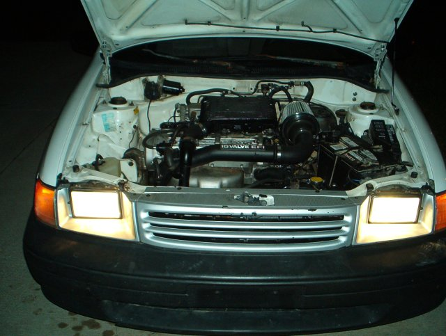 1991 Toyota Tercel Base Turbo