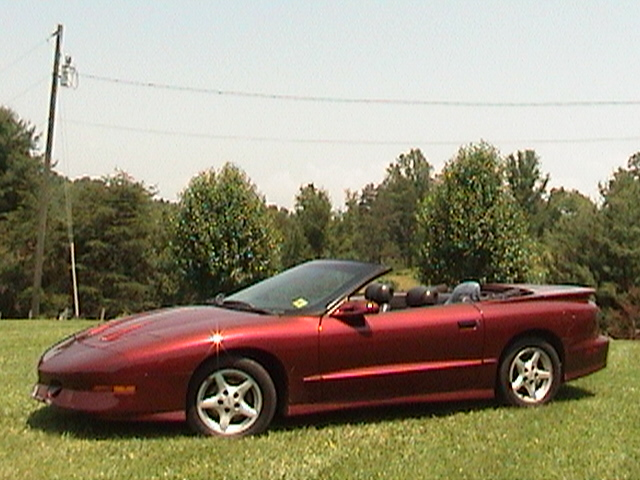 1995 Pontiac Trans Am convertable
