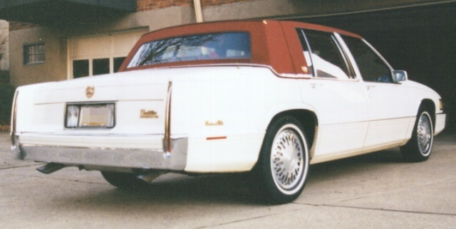 1990  Cadillac De Ville  picture, mods, upgrades