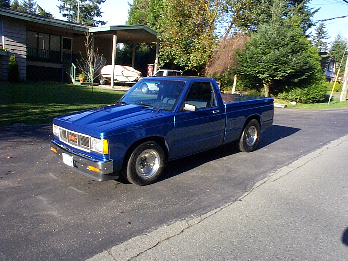 1989  GMC S15 Pickup  picture, mods, upgrades