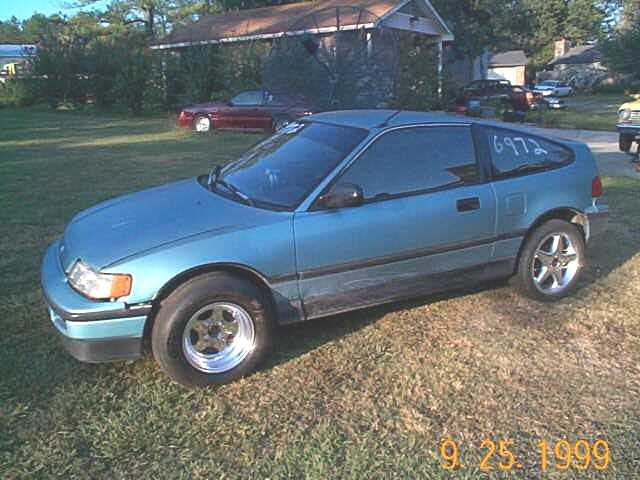 1988  Honda Civic CRX  picture, mods, upgrades