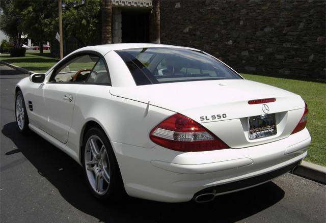 Stock 2007 Mercedes Benz Sl550 1 4 Mile Drag Racing Timeslip Specs 0