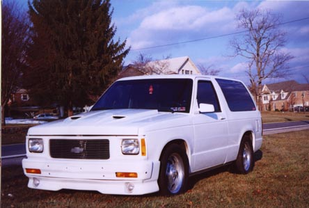 1991  Chevrolet S10 Blazer  picture, mods, upgrades