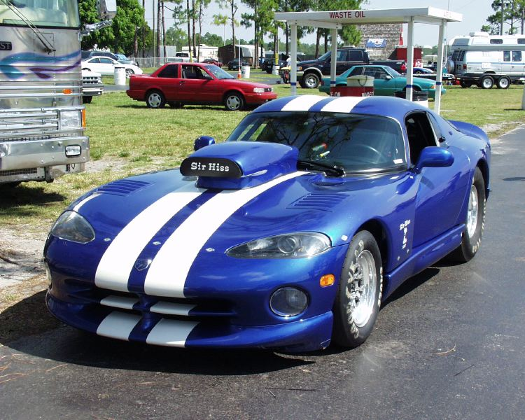 1996 Dodge Viper Gts 1 4 Mile Trap Speeds 0 60 Dragtimes Com