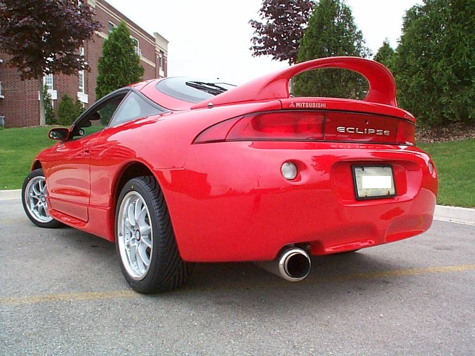 1999 mitsubishi eclipse gs t 1 4 mile drag racing timeslip. Black Bedroom Furniture Sets. Home Design Ideas