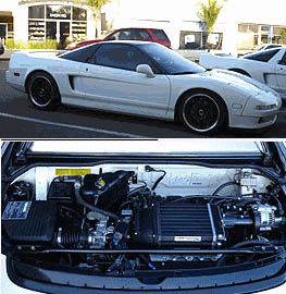 1992  Acura NSX Comptech Supercharger picture, mods, upgrades