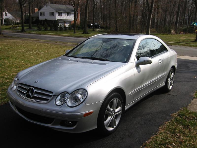 You can vote for this Mercedes-Benz CLK350 Coupe to be the featured car of