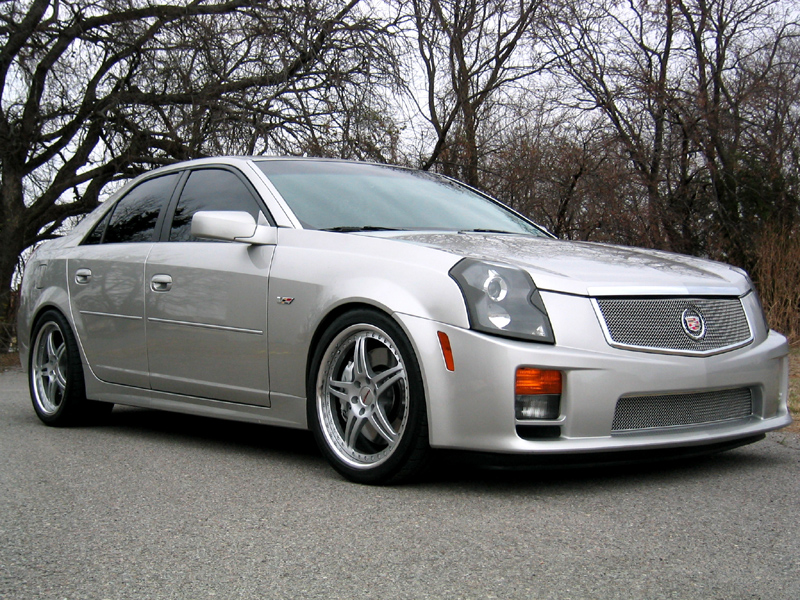 2004  Cadillac CTS-V Nitrous picture, mods, upgrades