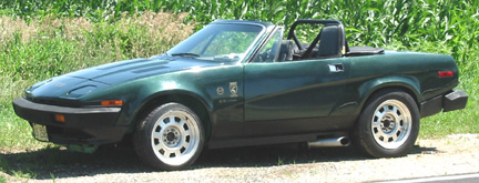 1980  Triumph TR8  picture, mods, upgrades