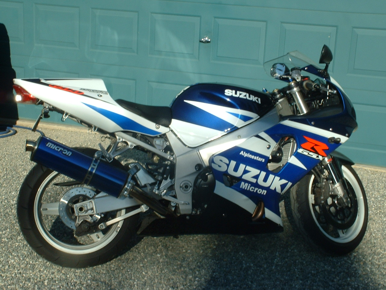 2001  Suzuki GSX-R 600 picture, mods, upgrades
